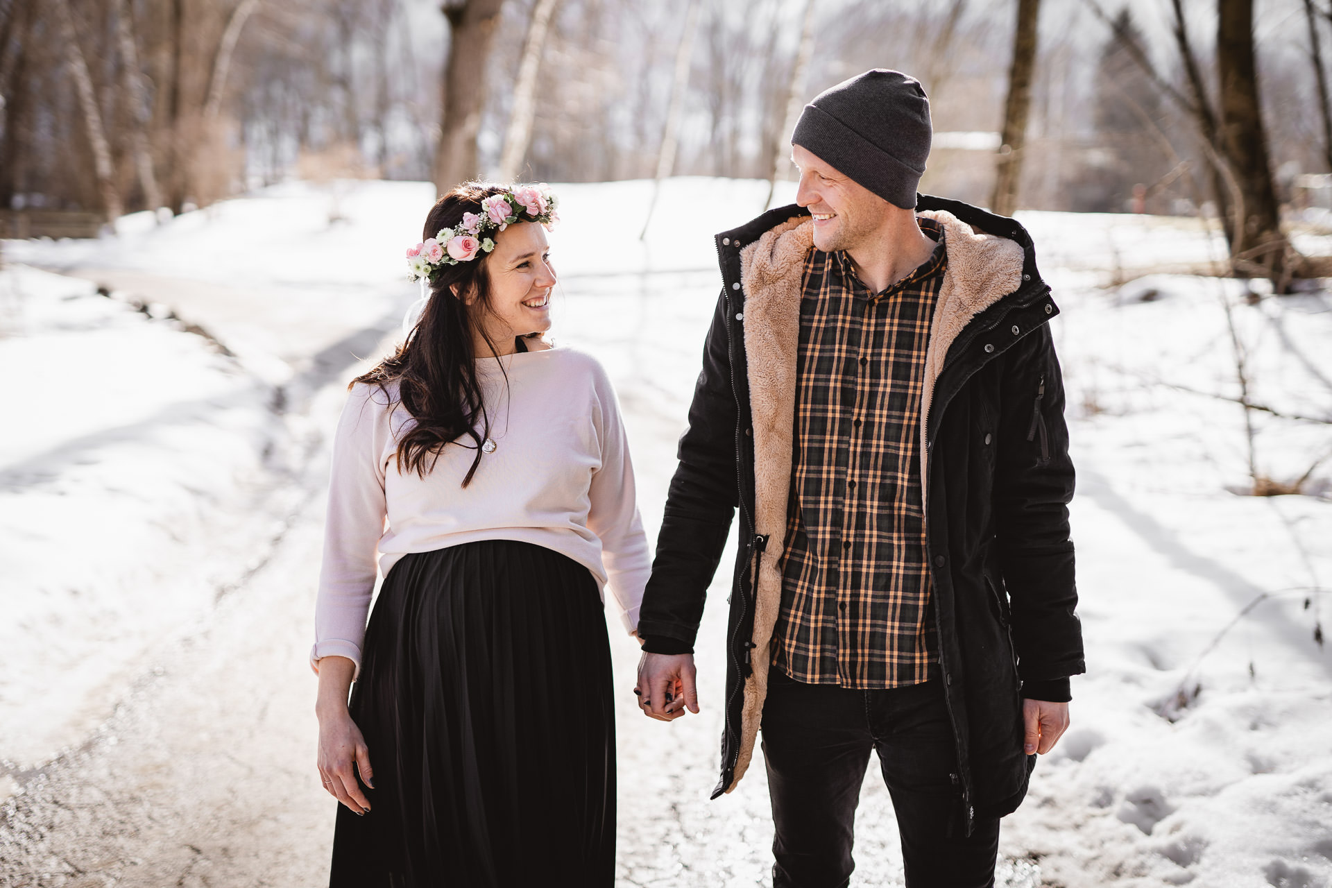 Verena & Manuel Photography | Paarfotos | Paarshooting | Winter